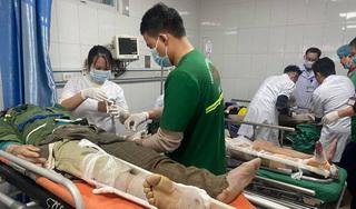 NÓNG: Tai nạn rơi vận thăng nghiêm trọng ở Nghệ An, nhiều người thương vong