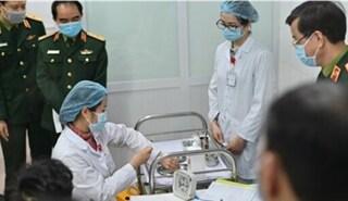 Cuối tháng 1, Việt Nam tiếp tục thử nghiệm vaccine Covid-19 trên người