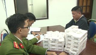 Bị xử phạt 70 triệu đồng vẫn tiếp tục vận chuyển thuốc lá lậu