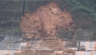 Vỡ đường ống dẫn nước thủy điện A Lưới - Thừa Thiên Huế