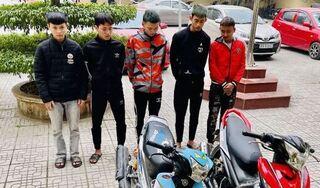 Thanh Hóa: Bắt nhóm thanh niên dùng dao cướp liên huyện