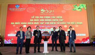 Tạp chí Điện tử Luật sư Việt Nam ra mắt giao diện mới