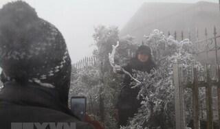 Bắc Bộ và Bắc Trung Bộ trời rét hại, Mẫu Sơn - 3.4 độ C