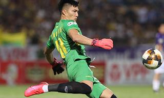 Thủ môn Nghệ An dẫn đầu Top 10 thủ môn giữ sạch lưới nhiều nhất ĐNA
