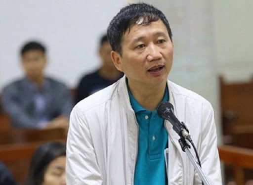 Đã quyết định ngày tiếp tục xử cựu Chủ tịch PVN Đinh La Thăng