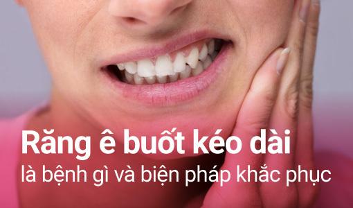 răng ê buốt