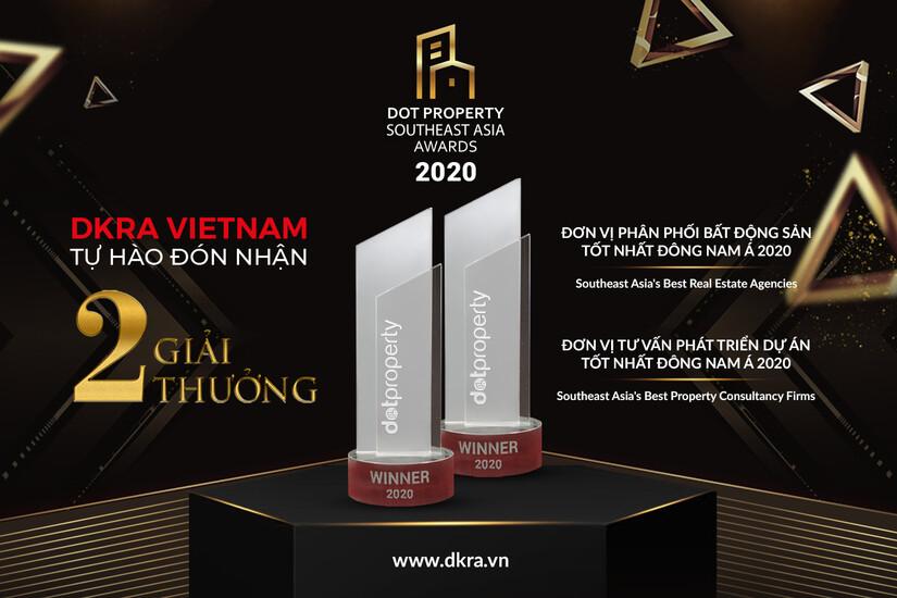 DKRA Vietnam vinh dự đón nhận hai giải thưởng quốc tế danh giá trong lĩnh vực dịch vụ Bất động sản