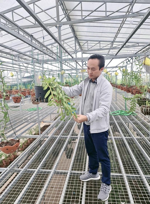 Niềm đam mê hoa lan của nghệ nhân Minh Xa