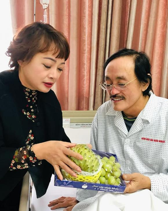 Nghệ sĩ Giang Còi có khối u ở họng, không thể nói được