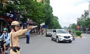 Tạm cấm nhiều tuyến đường ở Hà Nội phục vụ Đại hội Đảng từ 24/1 tới 2/2