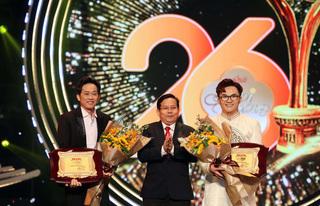 NSƯT Hoài Linh nhận giải 'Vì cộng đồng', Jack nói điều bất ngờ khi thắng giải Mai Vàng 2020