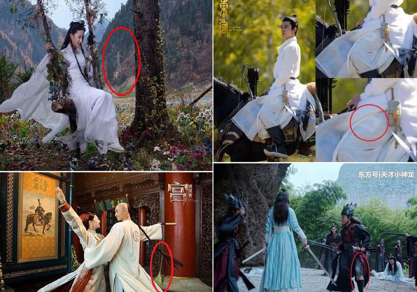 Lộ 'sạn' phim cổ trang Trung Quốc ngớ ngẩn, 'lừa' khán giả bằng kỹ xảo không thể giả hơn