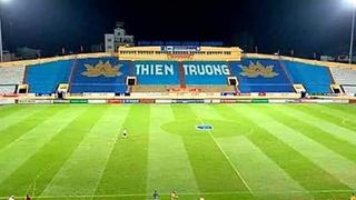 Lộ lý do sân Thiên Trường sũng nước ở trận gặp Hà Nội FC
