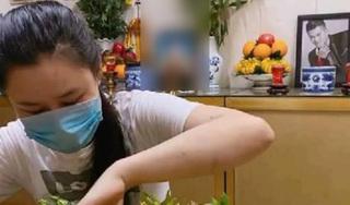 Vợ cố ca sĩ Vân Quang Long lặng lẽ đến viếng chồng sau ồn ào chuyện gia đình