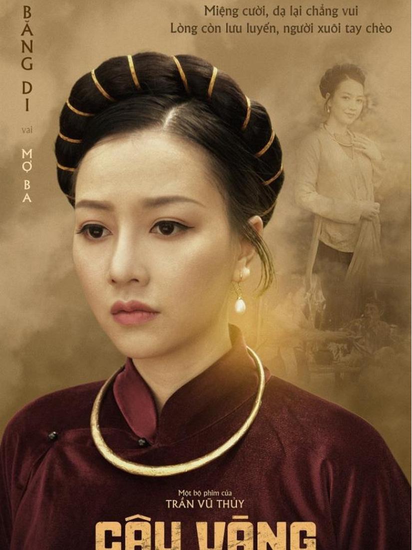'Ác nữ giật chồng' Băng Di vào vai Mợ Ba trong 'Cậu Vàng': Được và mất gì?