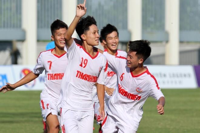 U19 Nam Định và HAGL nhận kết quả trái ngược ở giải quốc gia