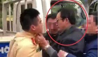 Túm áo CSGT Tuyên Quang, Chi cục trưởng say xỉn bị phạt 38 triệu đồng