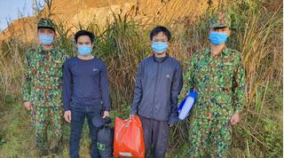 Phát hiện 2 trường hợp vượt biên trái phép từ Lào về Việt Nam