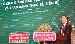 GS Huỳnh Văn Sơn làm Hiệu trưởng Trường ĐH Sư phạm TP. Hồ Chí Minh