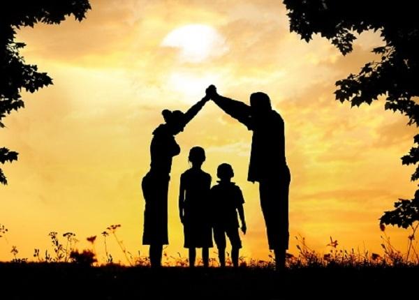 Nhân cách của cha, tâm tính của mẹ quyết định phong thủy gia đình