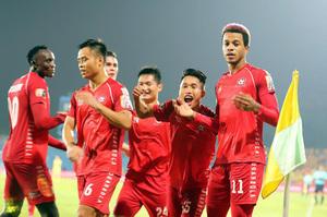 Xếp hạng V.League 2021: CLB Hải Phòng chiếm đỉnh bảng