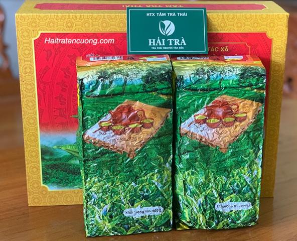 Quà tặng lễ tết - trà thái nguyên đang được ưa chuộng