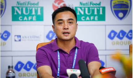 HLV Bình Định tiết lộ bí quyết đánh bại Sài Gòn FC