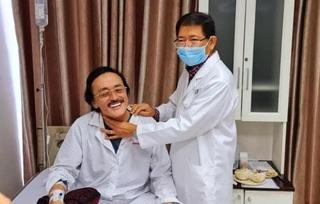 Nghệ sĩ Giang Còi đã chấp nhận hóa trị ung thư với tinh thần lạc quan hiếm có