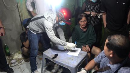 Người phụ nữ 61 tuổi cầm đầu cầm đầu ổ ma túy ở Tiền Giang