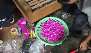 Hải Phòng: Đang mang pháo tự làm đi bán thì bị công an bắt