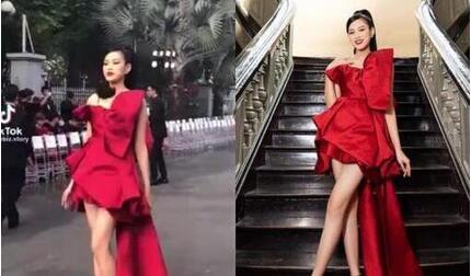 Hoa hậu Đỗ Thị Hà lộ 'sự thật' về đôi chân dài 1m1 qua ống kính camera thường