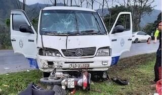 Quảng Trị: Ô tô cuốn xe máy vào gầm, một phụ nữ tử vong