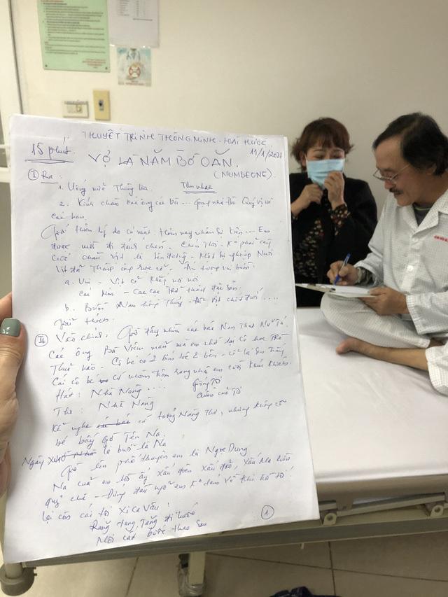 Nghệ sĩ Giang còi: 'Tôi không bị ung thư nhé, chỉ viêm họng vài hôm là hết thôi'