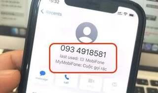 Cách nhanh nhất để biết cuộc gọi rác trên iPhone, không còn lo