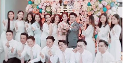 Lộ hình ảnh đầu tiên trong lễ cưới Phan Thành - Primmy Trương