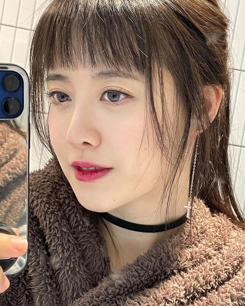 'Nàng cỏ' Goo Hye Sun hứng gạch đá vì khuyên fan giảm cân tiêu cực