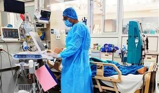 Bệnh nhân 1553 ở Quảng Ninh tổn thương phổi nặng, suy hô hấp