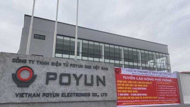 Đưa hơn 2.000 công nhân công ty POYUN đi cách ly tập trung