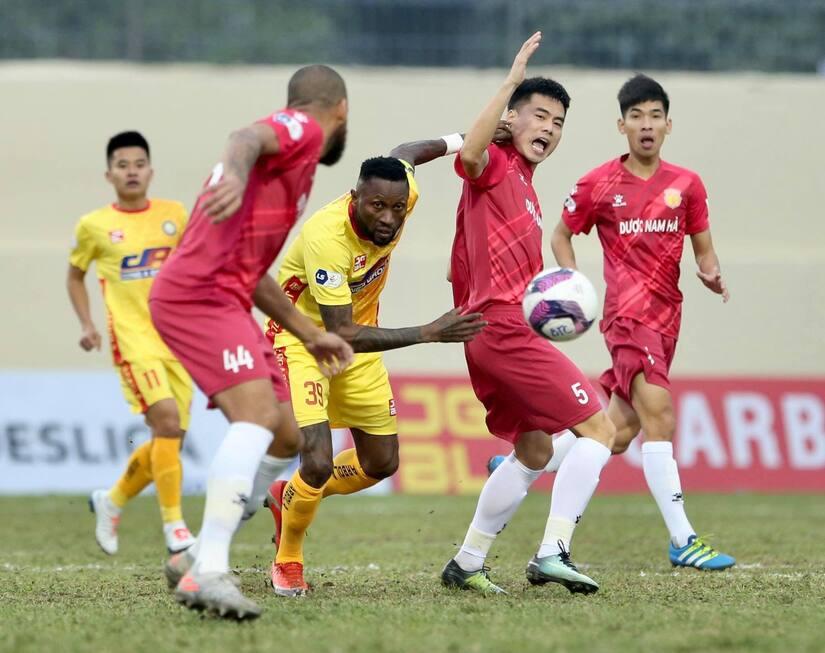 Thanh Hóa đánh bại Nam Định với tỷ số 3-0