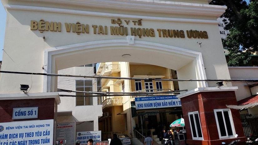 Ca Covid-19 ở Hải Dương từng đến khám tại Bệnh viện Tai Mũi Họng Trung ương
