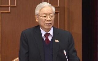 Đồng chí Nguyễn Phú Trọng tái đắc cử Tổng Bí thư khóa XIII