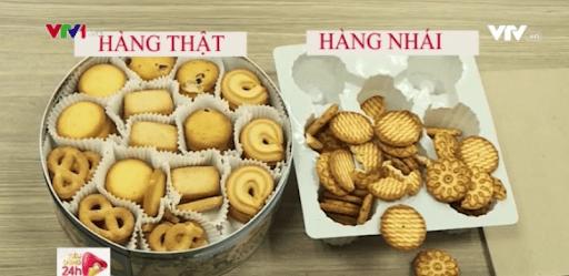 Mẹo phân biệt bánh kẹo thật, giả trong ngày Tết