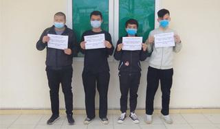 Bắt giữ 4 người Trung Quốc nhập cảnh trái phép vào Việt Nam