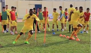 CLB Thanh Hóa tịch cực tập luyện trong ngày V.League tạm hoãn