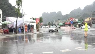 TP Cẩm Phả - Quảng Ninh duy trì 8 chốt kiểm soát dịch bệnh