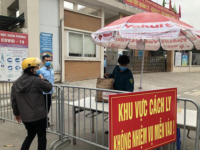Hà Nội: Sáng mai, 109 học sinh và người còn lại ở Trường Tiểu học Xuân Phương được về nhà