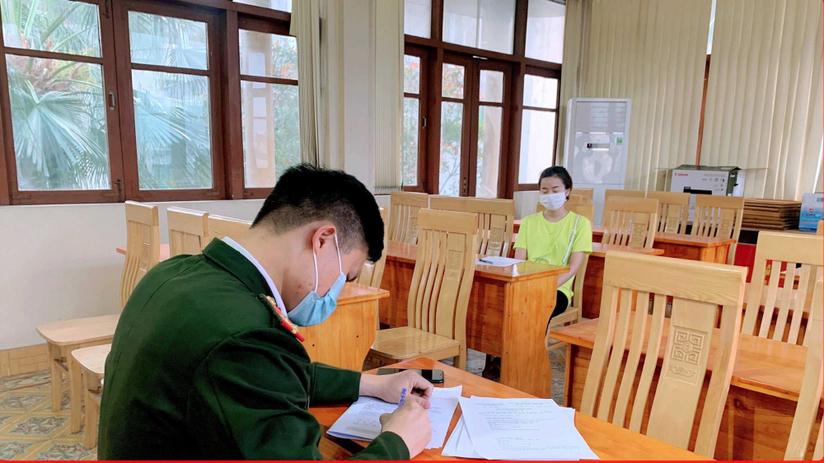 Xử phạt 2 người từ Hải Dương vượt sông sang Quảng Ninh trốn khai báo y tế
