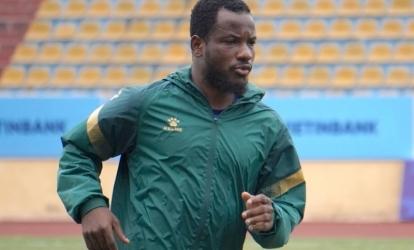 Konan Oussou đang gặp phải chấn thương khá nặng