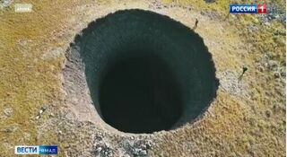 Bí ẩn đằng sau hố tử thần khổng lồ sâu bằng tòa nhà 10 tầng ở Siberia