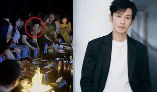 Huỳnh Hiểu Minh lên tiếng chuyện 'vui vầy' cùng 10 gái trẻ trong hộp đêm